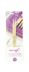 Tulip - CarryC Interchangeable Bamboo Knitting Needles (2 pcs) : Size 6 (4.00mm)
