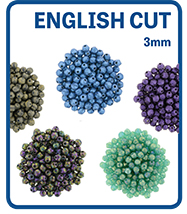 English Cut Round 3mm