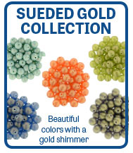 Sueded Gold Collection Tophole Rounds